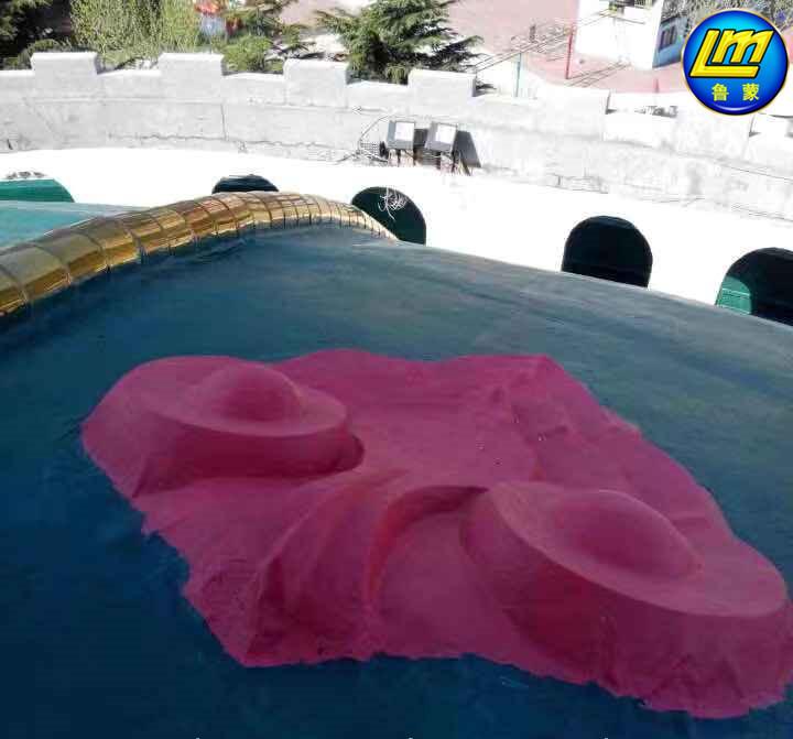 彩色防水屋面LM复合防水涂料施工注意事项