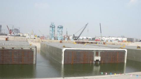 天津海河沉管隧道聚脲防水工程-鲁蒙防水工程案例
