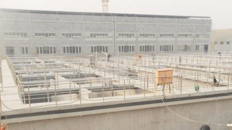 北京马池口再生水厂-鲁蒙防水工程案例