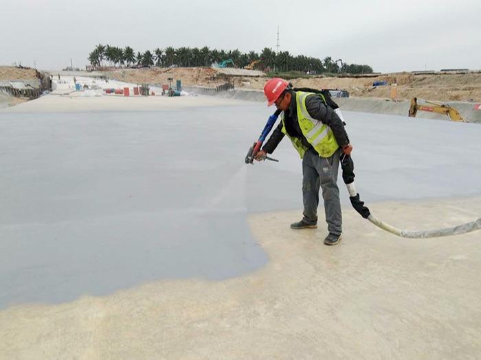 鲁蒙防水为您解析聚脲弹性防水涂料是怎样进行喷涂的