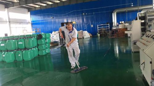 鲁蒙人在清扫中修行