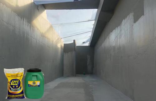 工业生活污水池防腐防渗就选鲁蒙LM复合防腐防水涂料