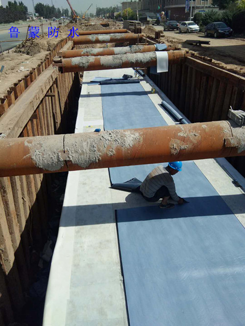 鲁蒙防水PE自粘防水卷材在辛集管廊防水工程中的应用