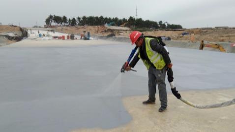 博鳌通道聚脲防水工程-鲁蒙防水工程案例