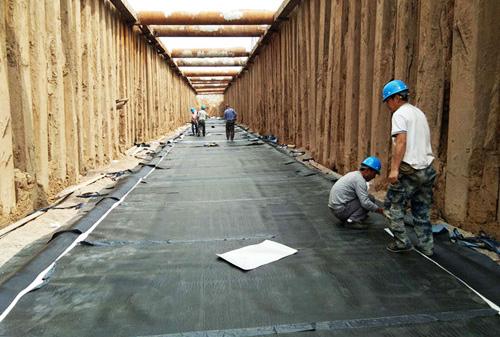 河北辛集管廊防水工程-鲁蒙防水工程案例