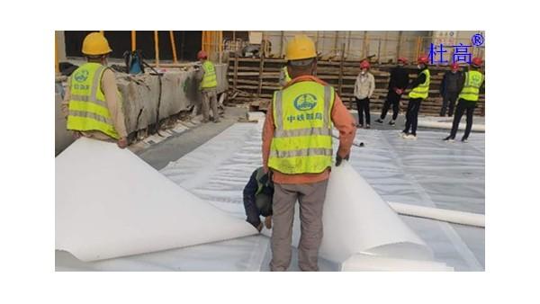 杜高HDPE耐根穿刺防水卷材施工采用热熔法
