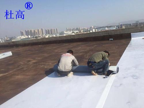 高密度聚乙烯(HDPE)自粘胶膜防水卷材施工要点及注意事项