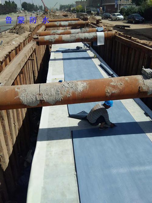 排水管廊防水工程应如何选材?自粘防水卷材是个好选择